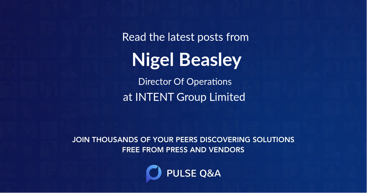 Nigel Beasley