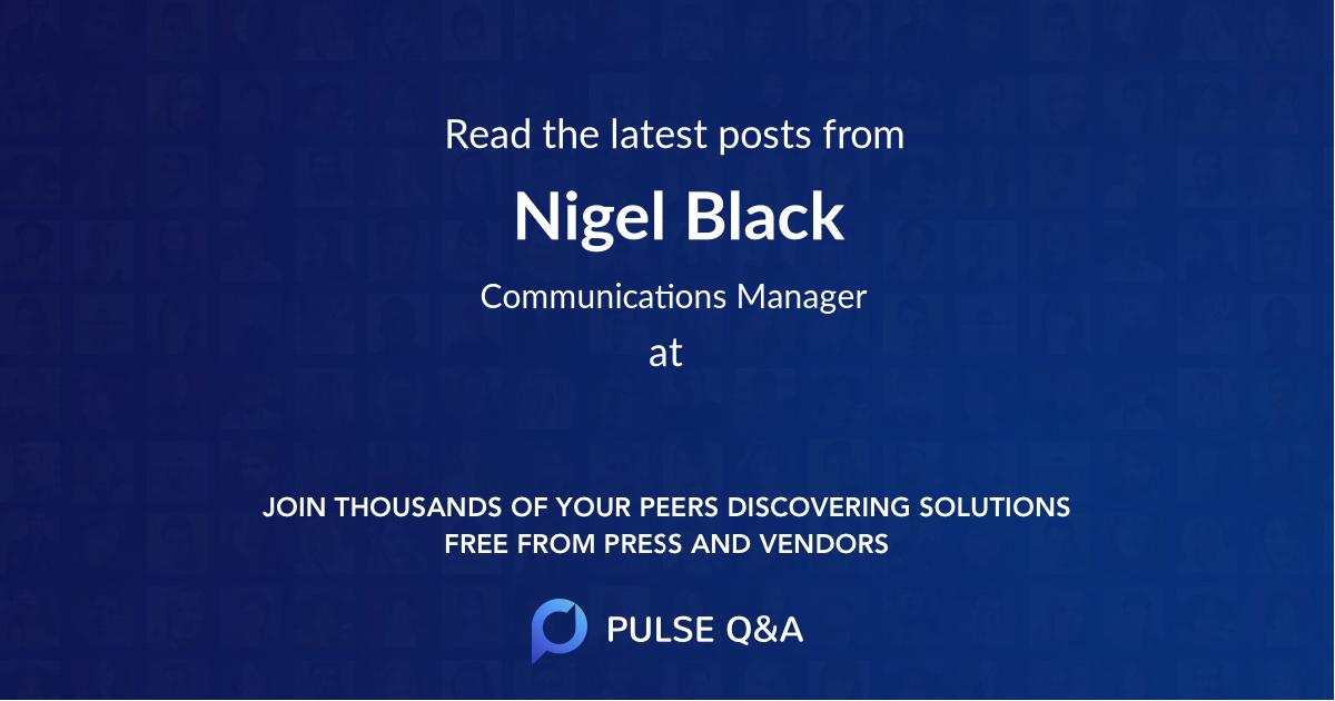 Nigel Black