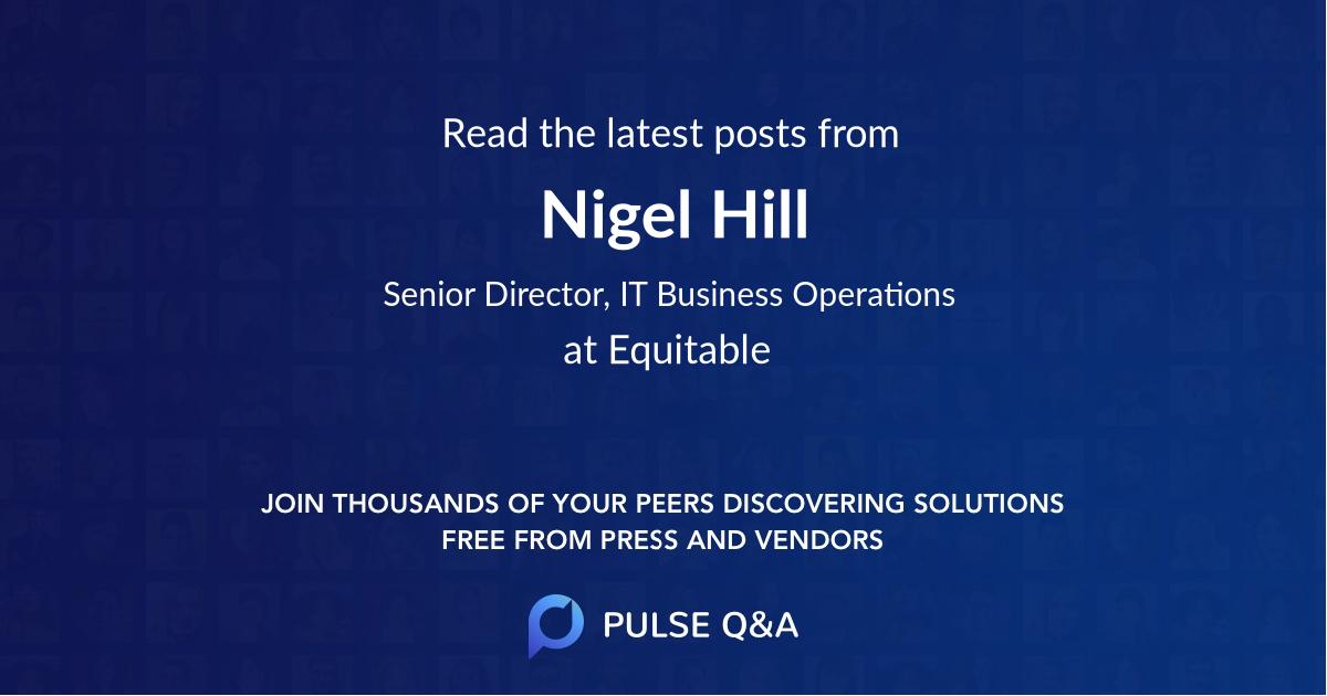 Nigel Hill