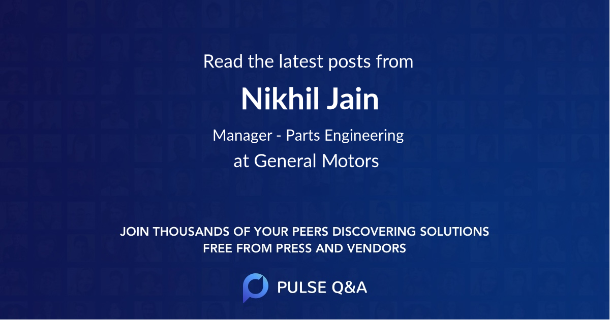 Nikhil Jain