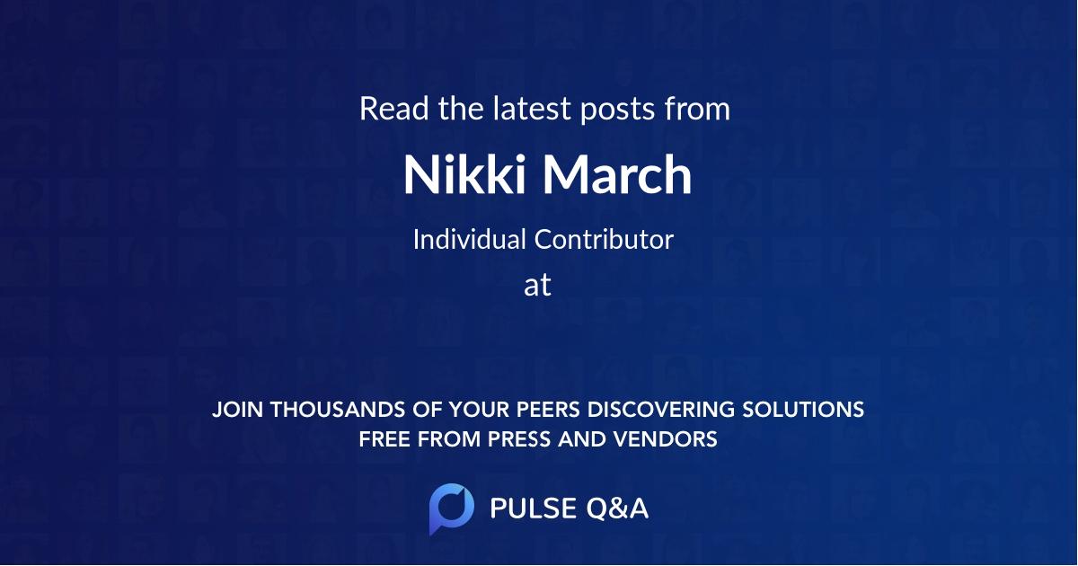 Nikki March