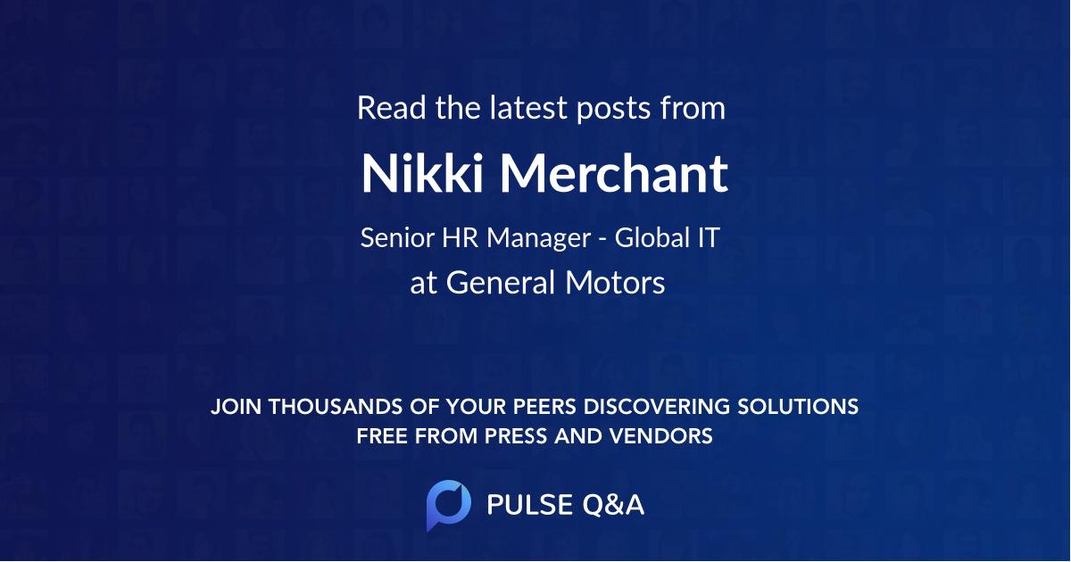 Nikki Merchant