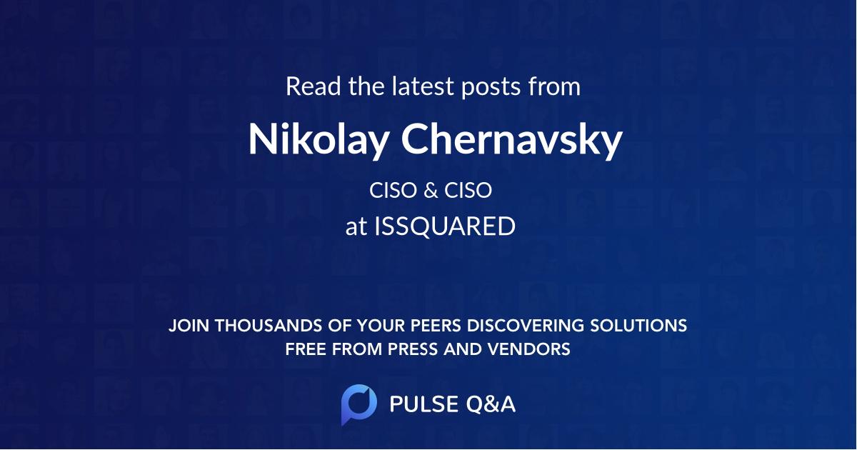 Nikolay Chernavsky