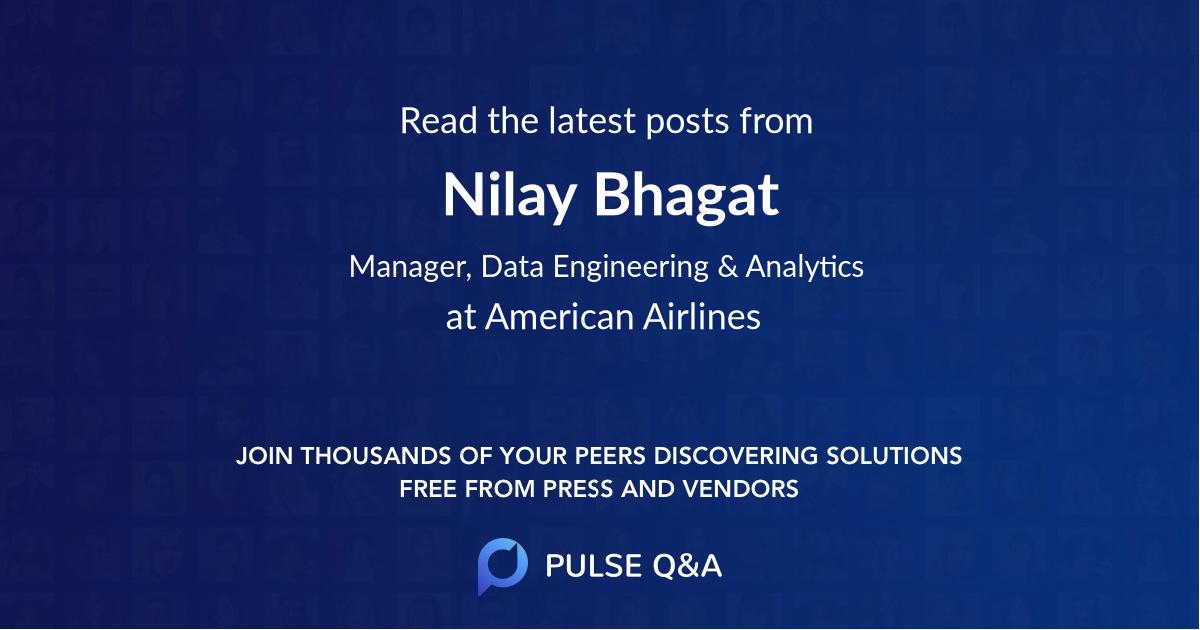 Nilay Bhagat