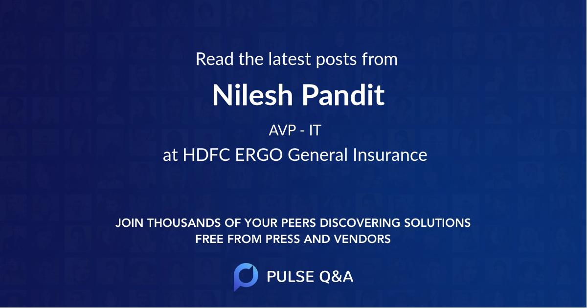Nilesh Pandit