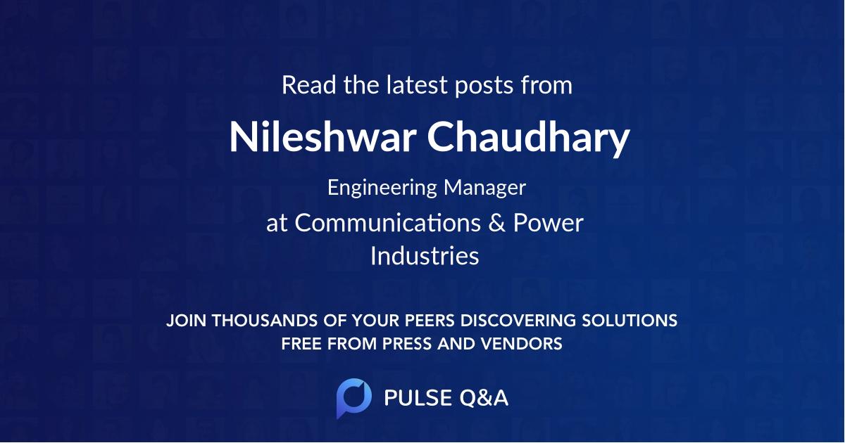 Nileshwar Chaudhary