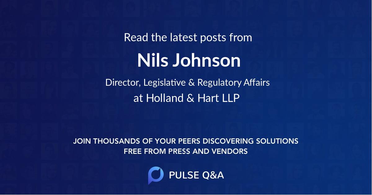 Nils Johnson