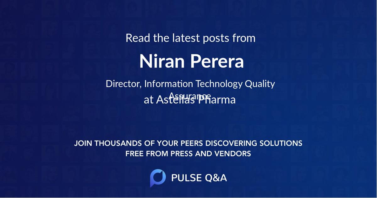 Niran Perera