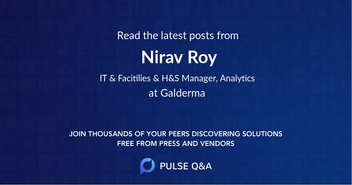Nirav Roy