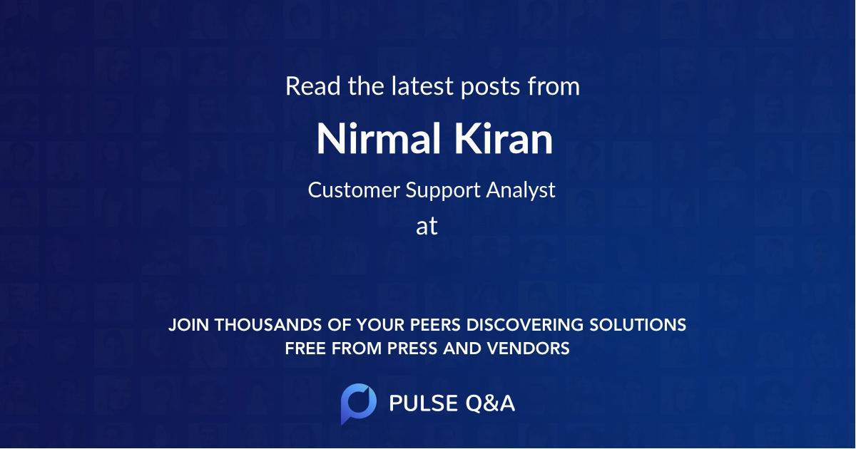 Nirmal Kiran