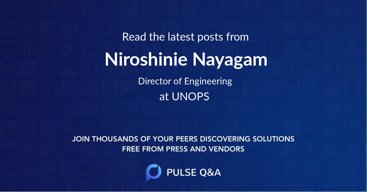 Niroshinie Nayagam