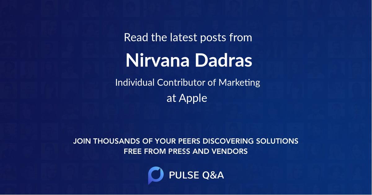 Nirvana Dadras