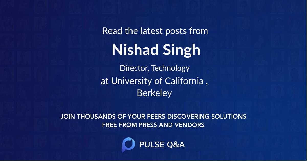 Nishad Singh