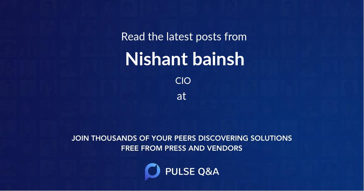 Nishant bainsh