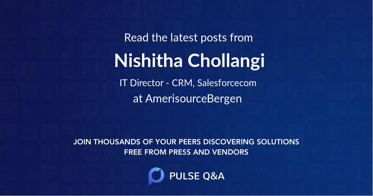 Nishitha Chollangi