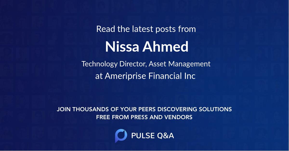 Nissa Ahmed
