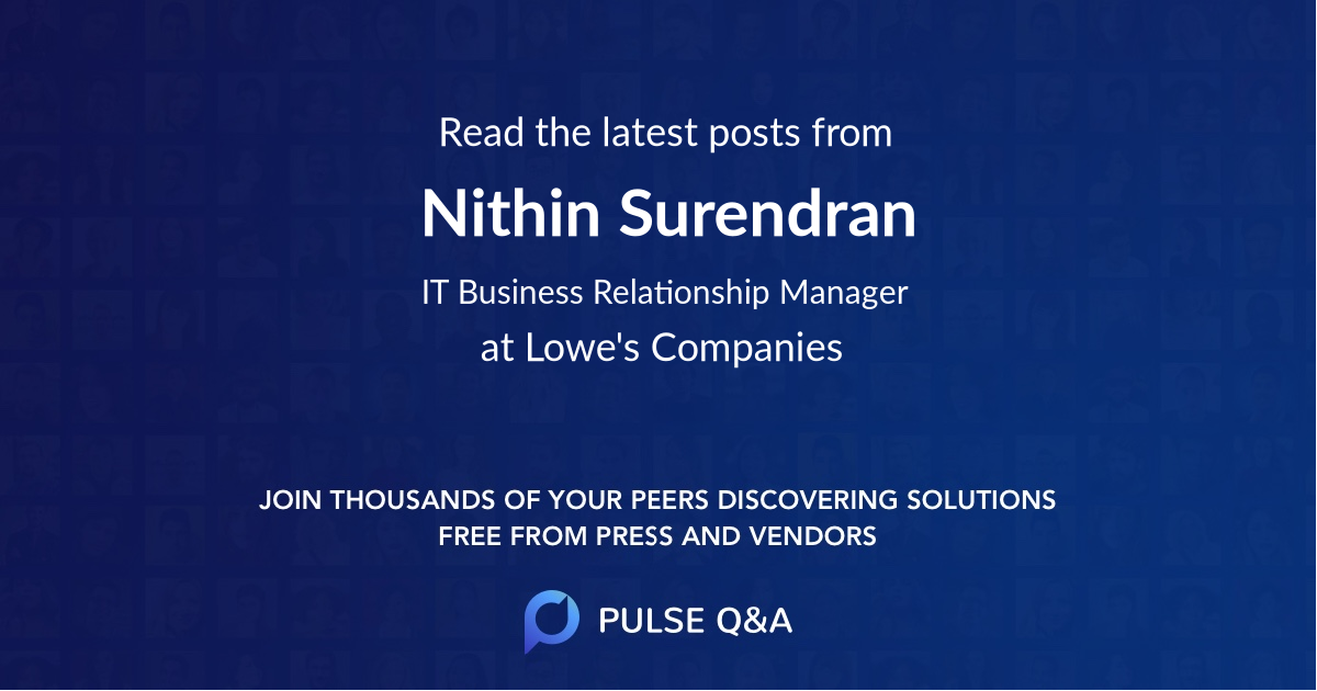 Nithin Surendran