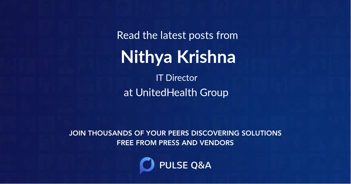 Nithya Krishna