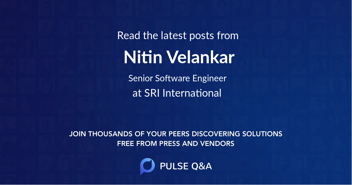 Nitin Velankar