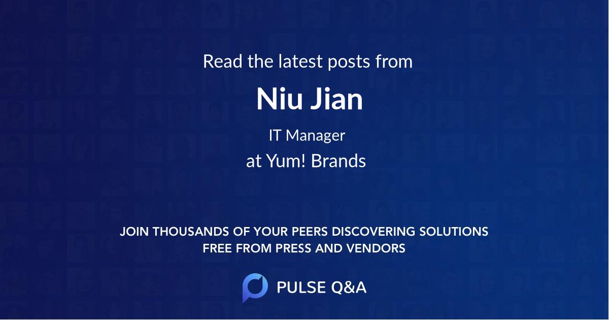 Niu Jian