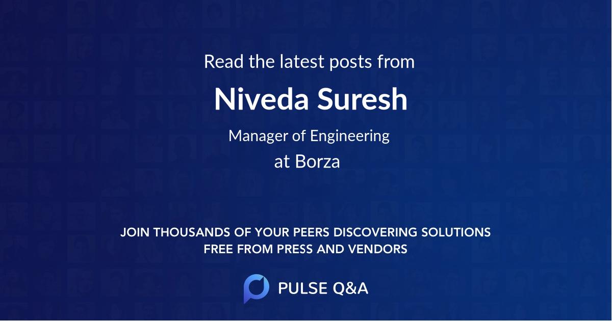 Niveda Suresh