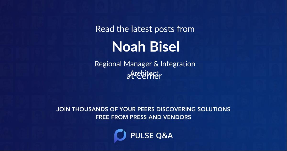 Noah Bisel