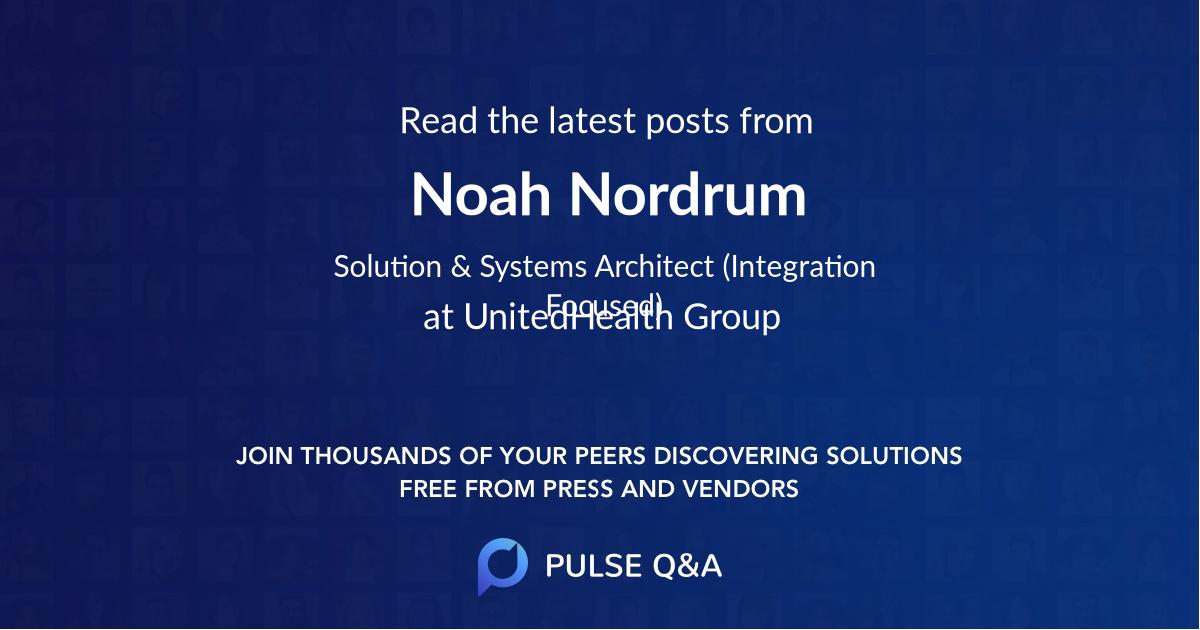 Noah Nordrum