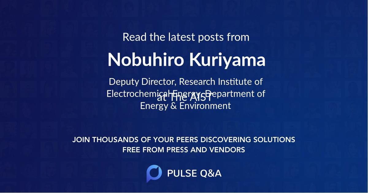 Nobuhiro Kuriyama