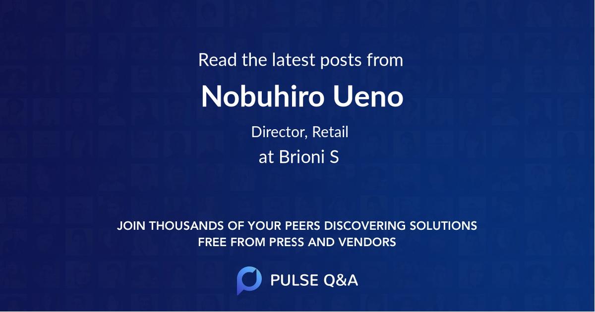 Nobuhiro Ueno