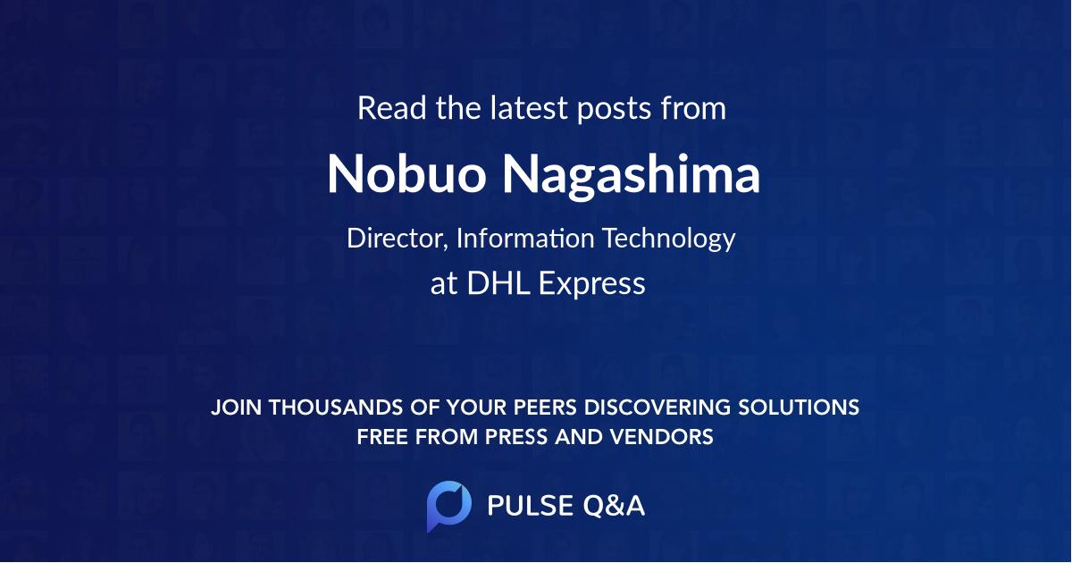 Nobuo Nagashima