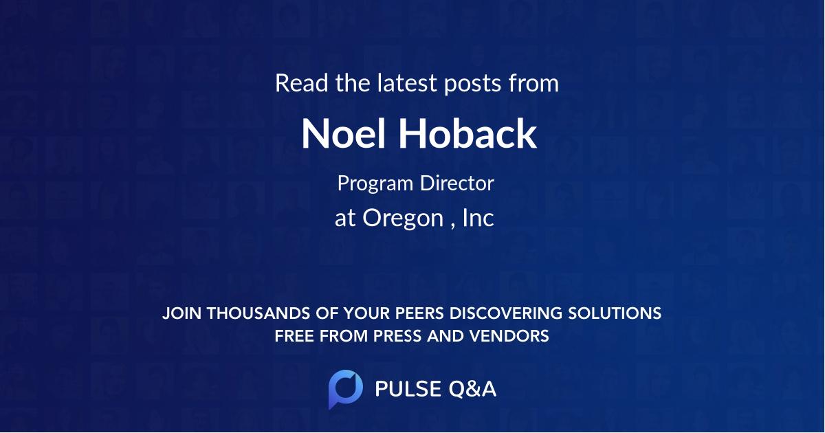 Noel Hoback