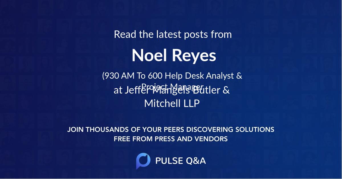 Noel Reyes