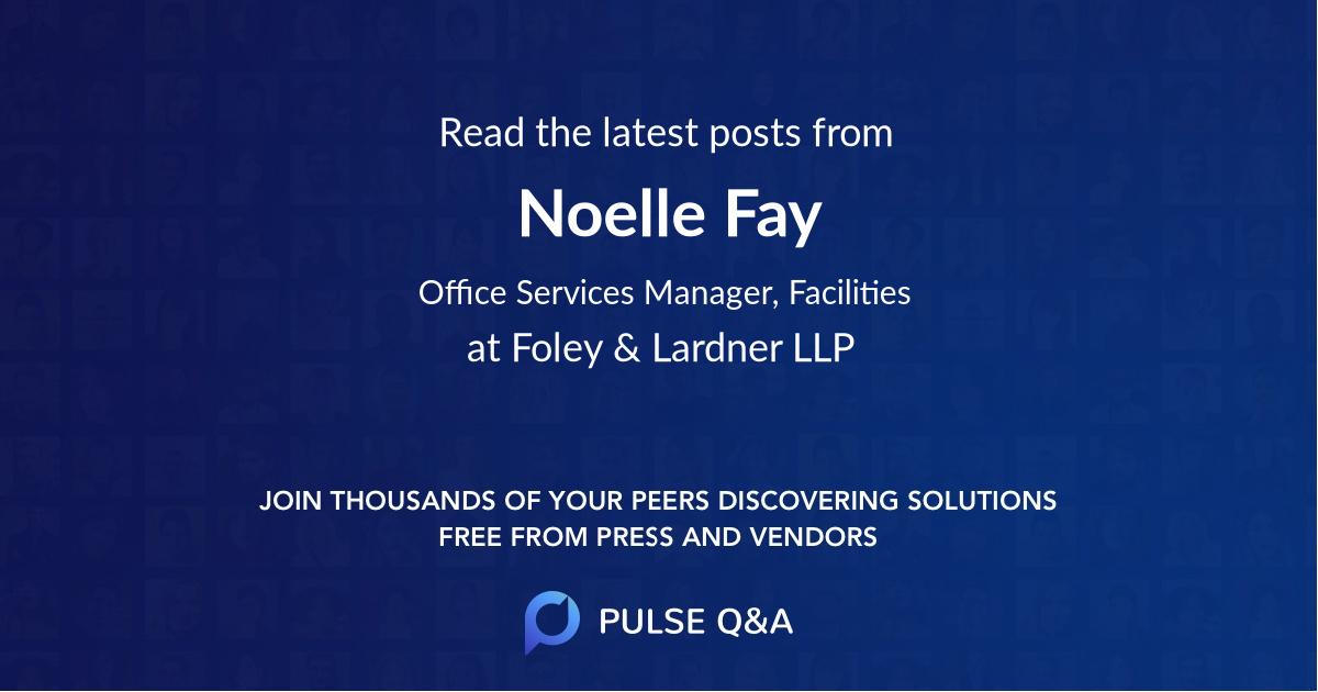 Noelle Fay