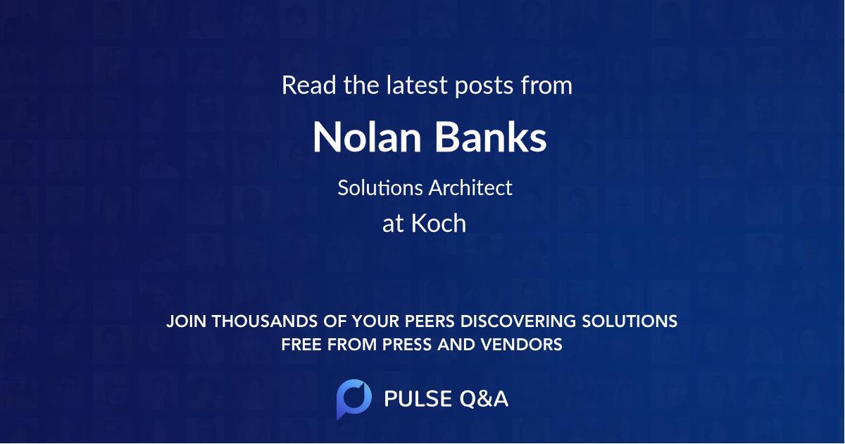 Nolan Banks
