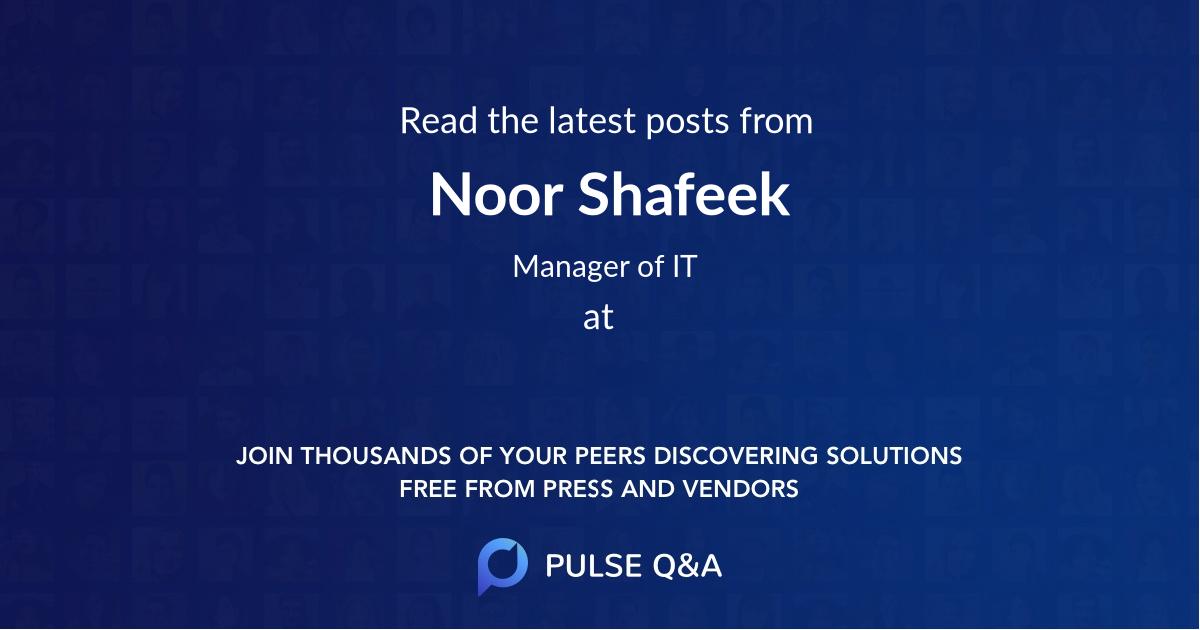 Noor Shafeek