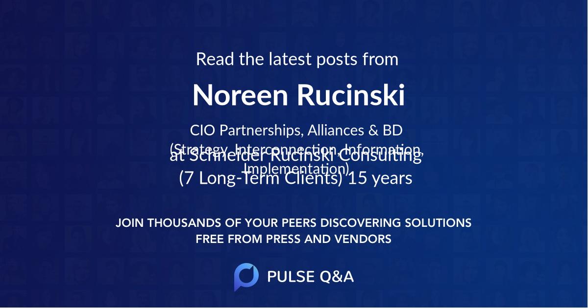 Noreen Rucinski