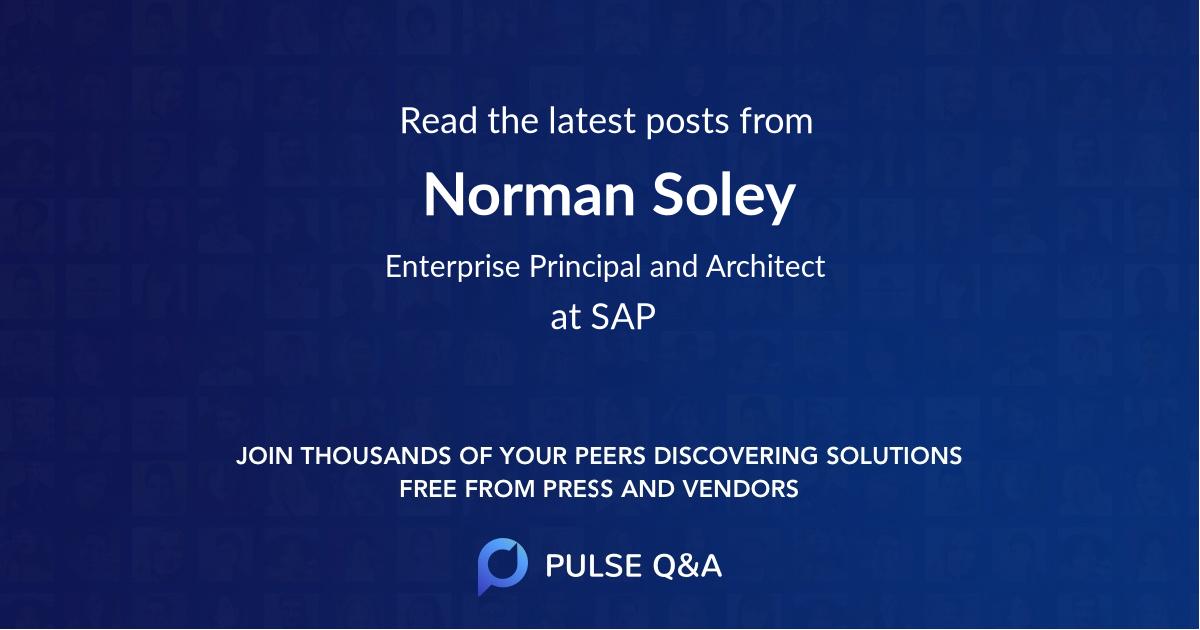 Norman Soley