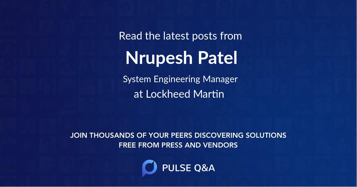 Nrupesh Patel