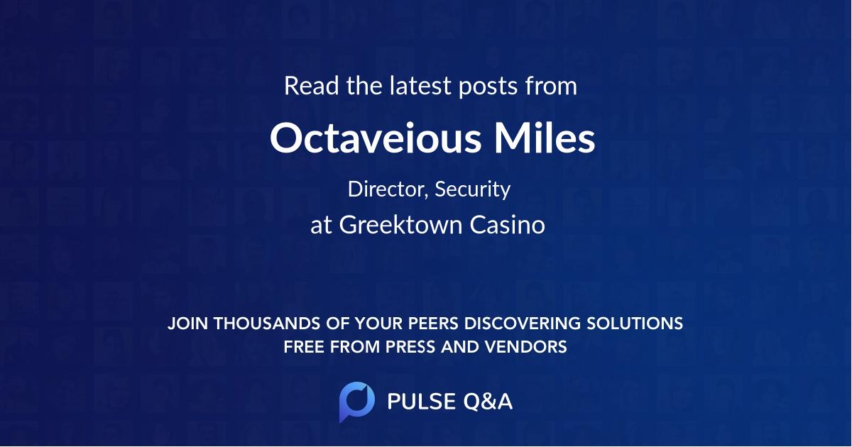 Octaveious Miles