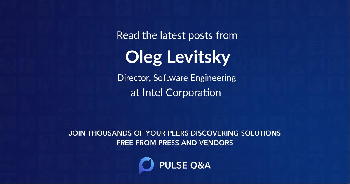 Oleg Levitsky