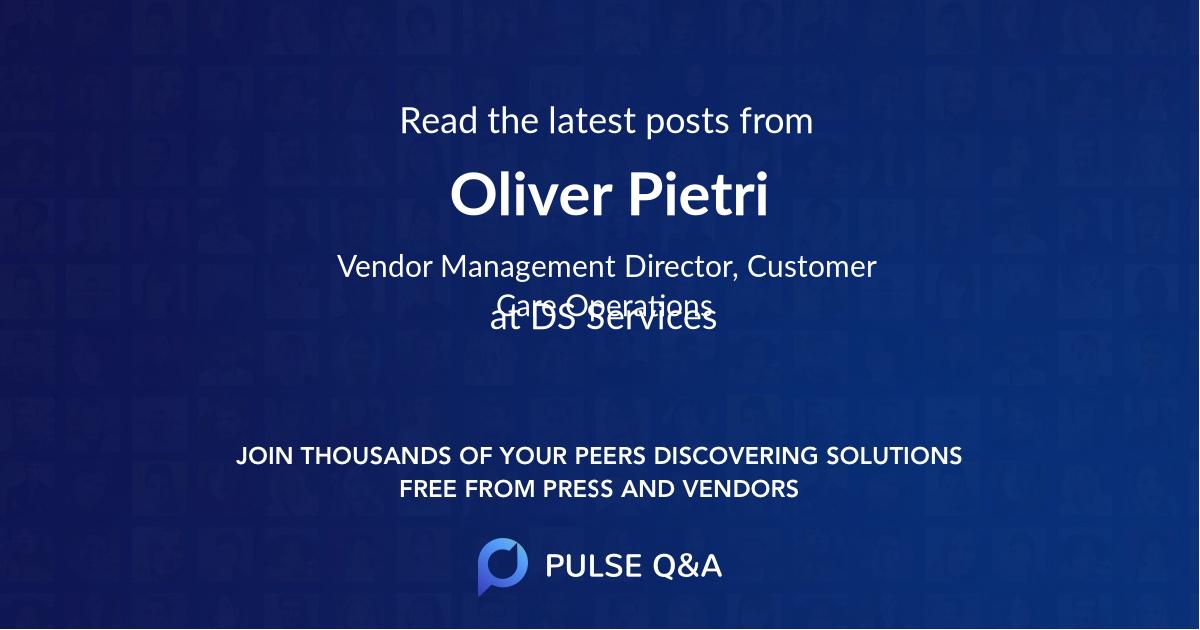 Oliver Pietri