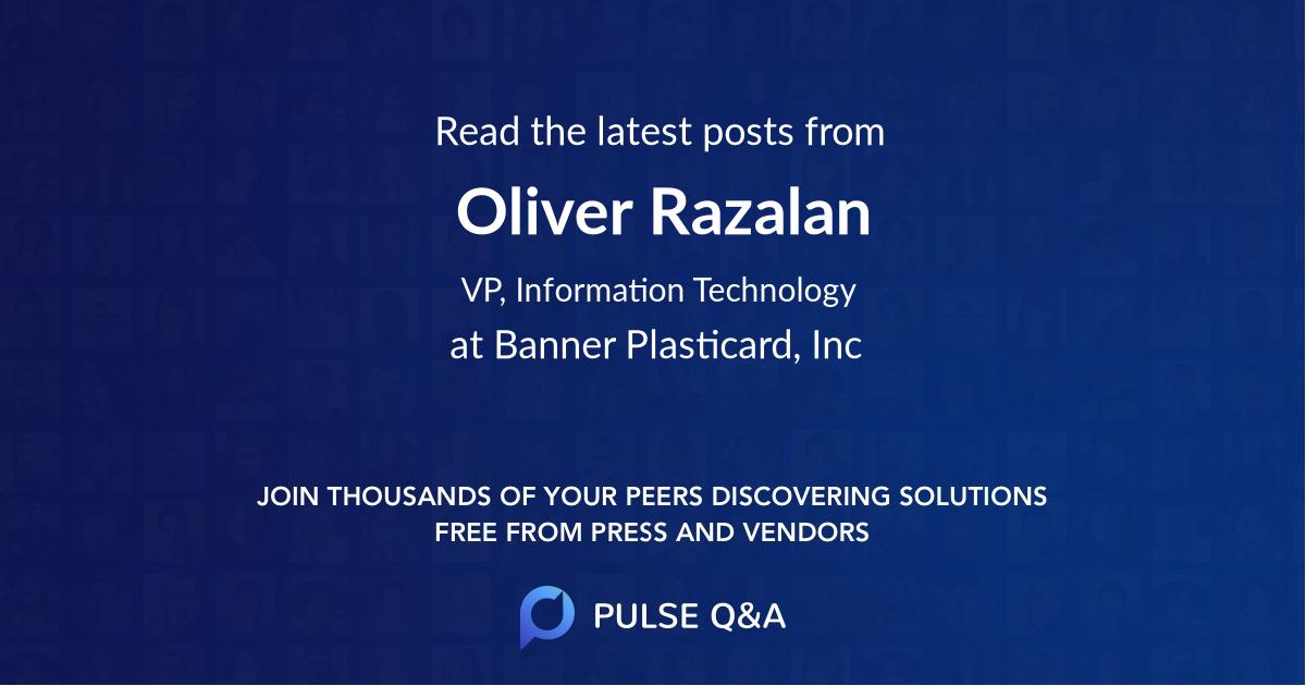 Oliver Razalan