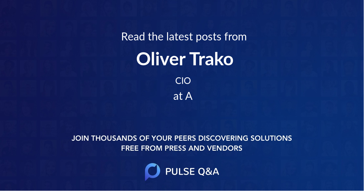 Oliver Trako