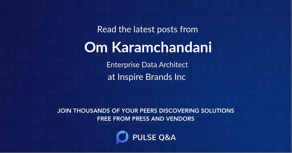 Om Karamchandani