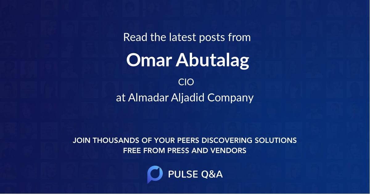 Omar Abutalag
