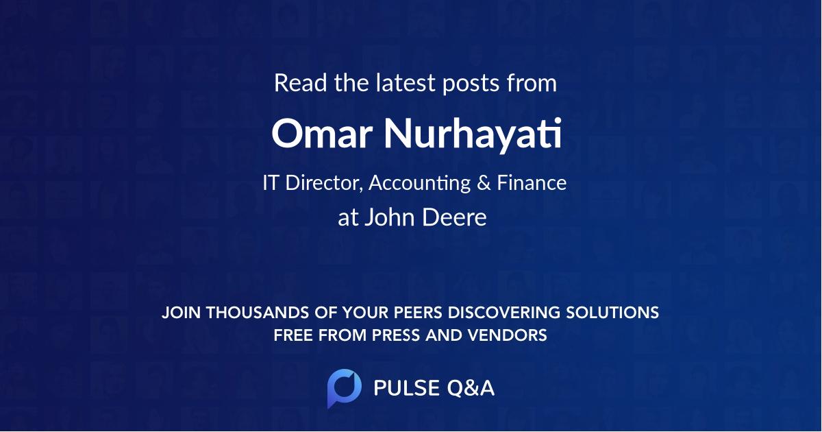Omar Nurhayati