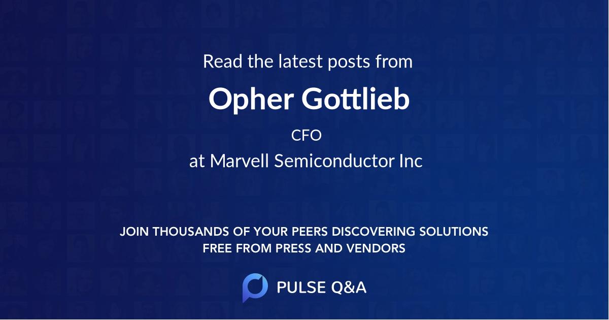 Opher Gottlieb