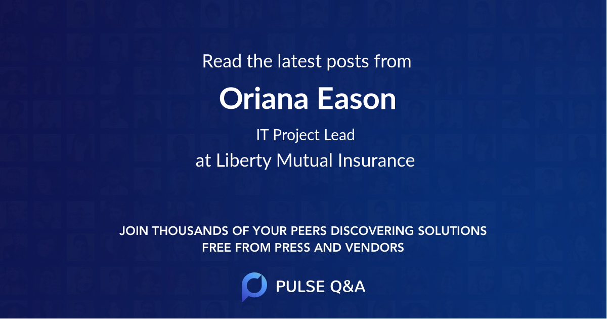 Oriana Eason