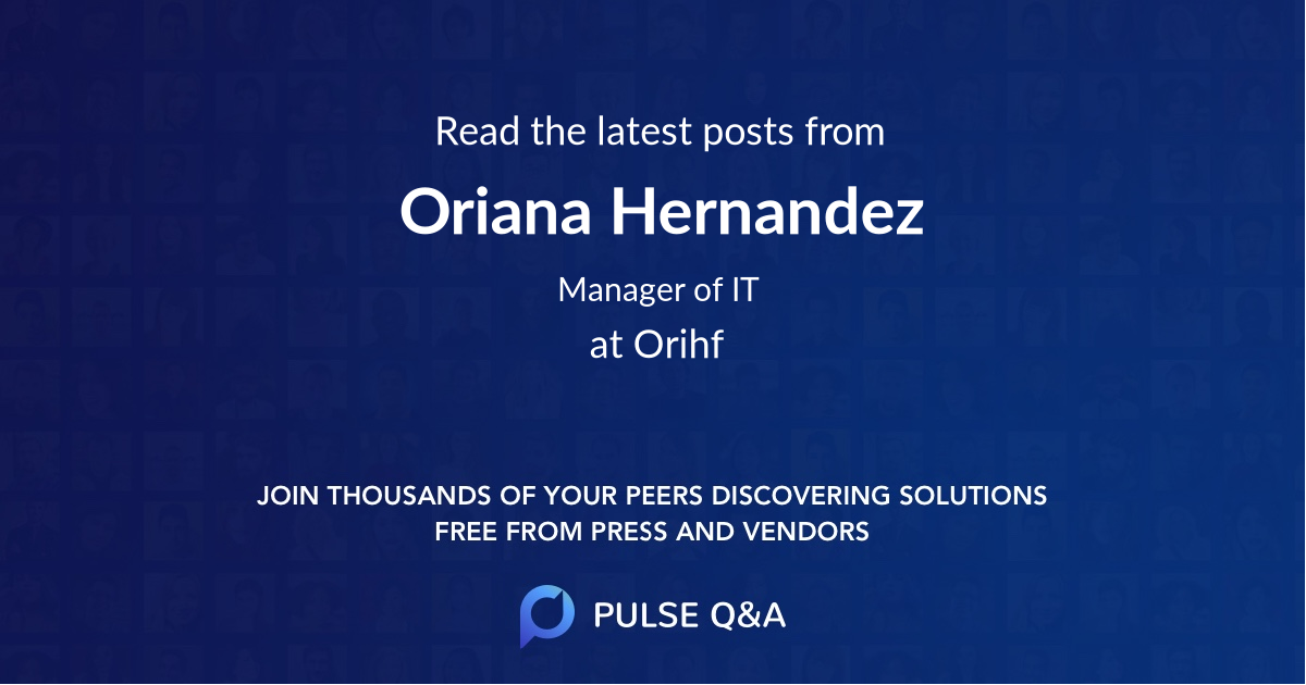 Oriana Hernandez