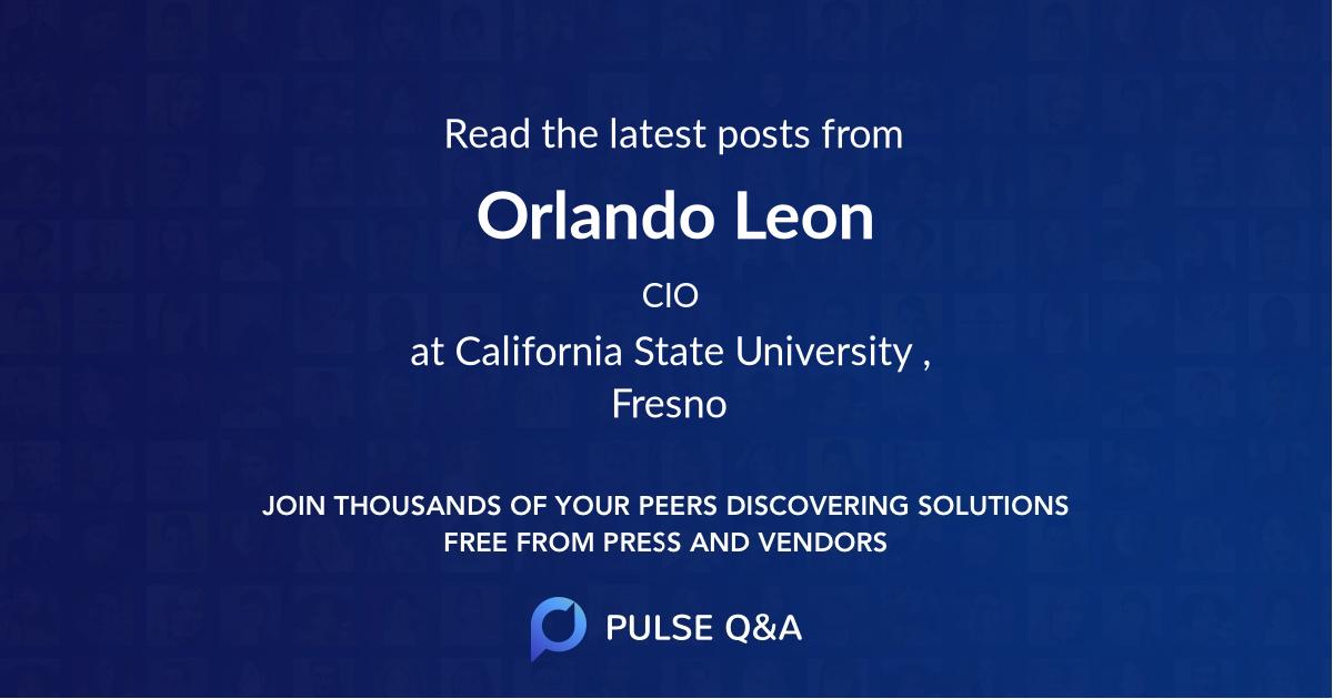 Orlando Leon